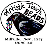 Artistic Touch Beads, Millville New Jersey, South Jersey's local bead store that is bigger on the inside!