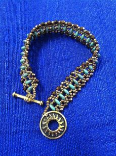 Artistic Touch Beads Just Rollin Along bracelet class
