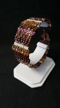 boho bracelet by Artistic Touch Beads