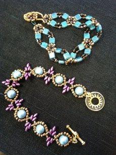 lattice diameond bracelets