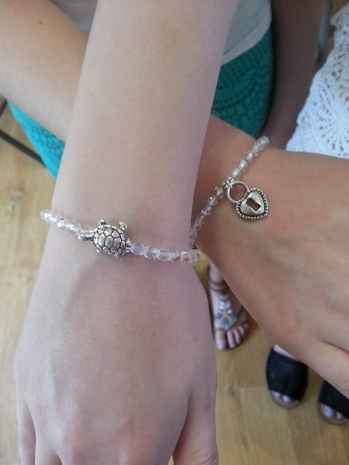 make pretty bracelets at Artistic Touch Beads