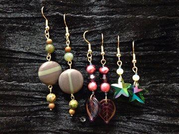 meganne earrings on black
